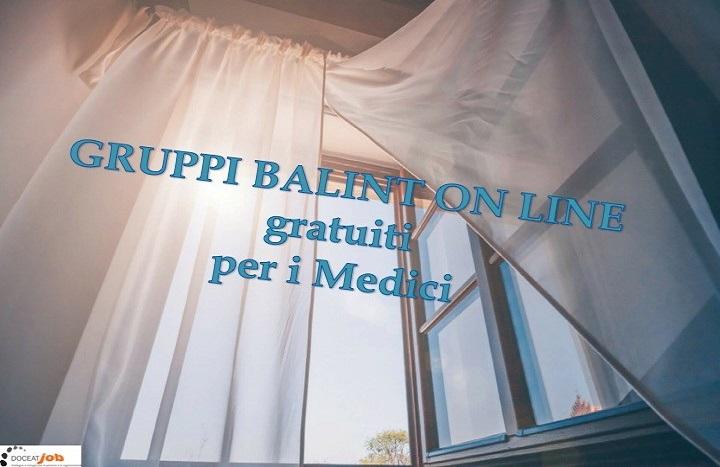 Gruppi Balint online 2020-21